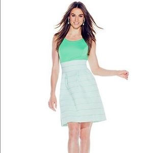 New York & Company Green Bandage Dress